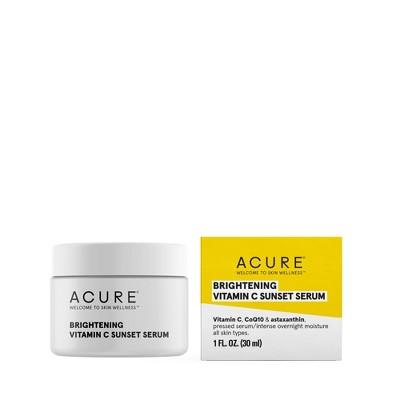 Acure Brightening Vitamin C Sunset Facial Serum - 1 fl oz