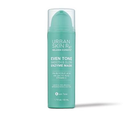 Urban Skin Rx Vitamin C Brighten & Glow Enzyme Mask - 1.7 fl oz