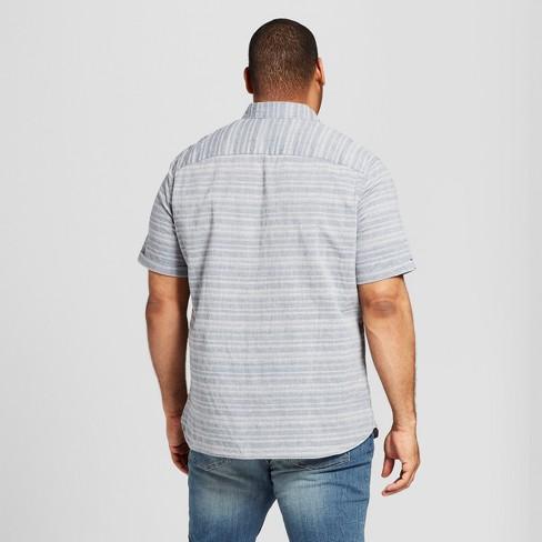 Men S Big Tall Short Sleeve Novelty Button Down Shirt Goodfellow