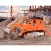 DRIVEN – Small Toy Construction Vehicle – Micro Bulldozer - Orange - image 2 of 4
