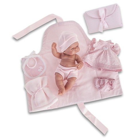 "Antonio Juan Pitu 10.5"" Baby Girl Doll With Changing Pad - image 1 of 1"