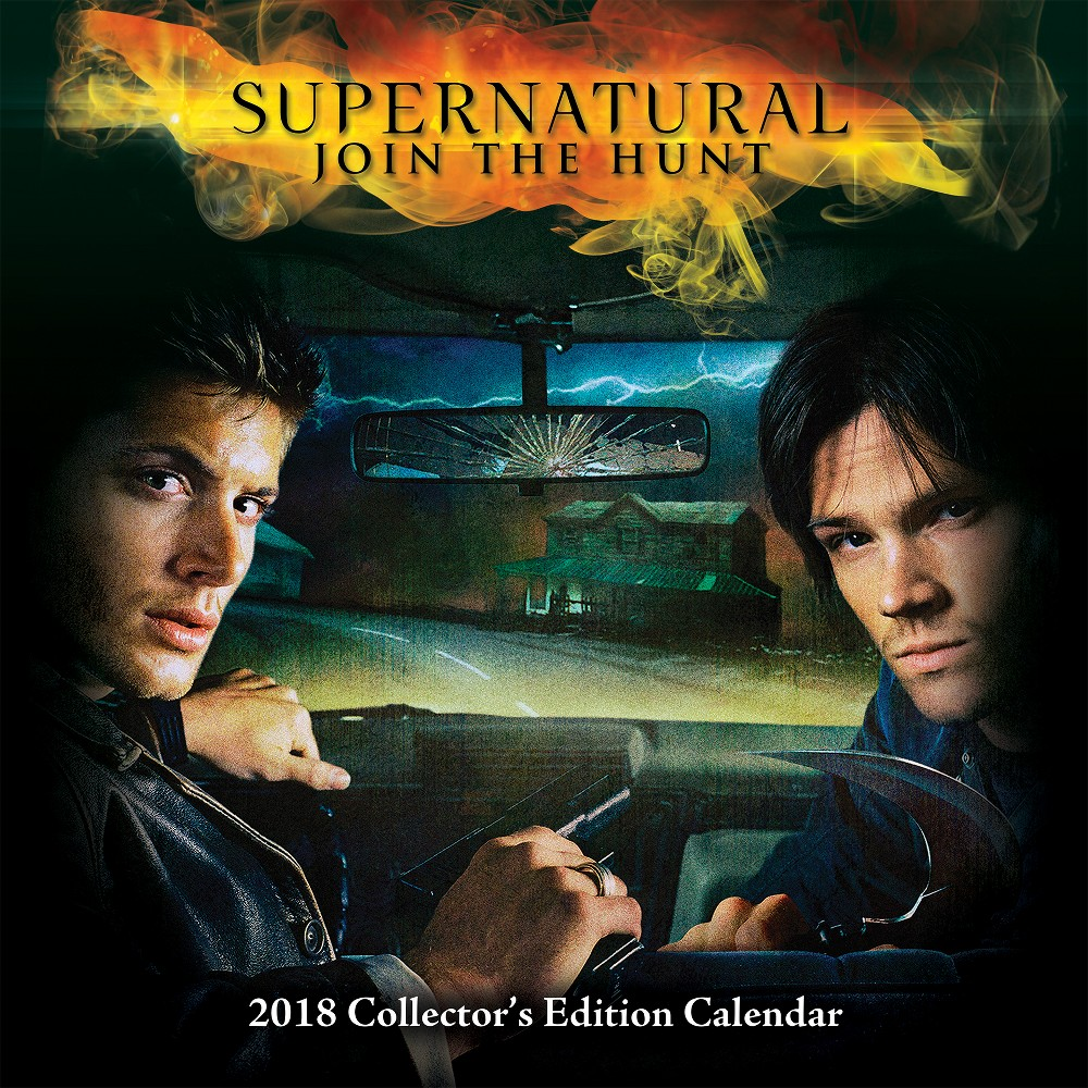 2018 Supernatural Collector's Edition Wall Calendar - Trends International, Multi-Colored