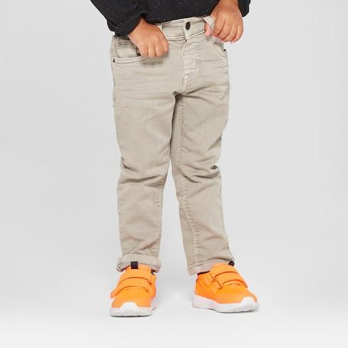 Toddler Boys' Skinny Jeans - Cat & Jack™ Light Grey - image 1 of 3