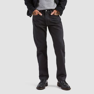 Levi's® Men's 505 Straight Regular Jeans - Black 38x32