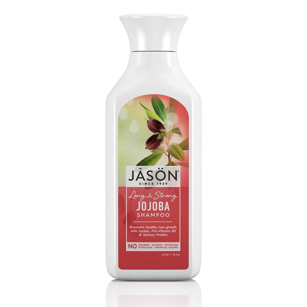 Image of Jason Long & Strong Jojoba For Healthy Hair Growth Shampoo - 16 fl oz