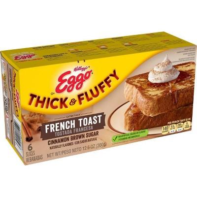 Eggo Thick & Fluffy Cinnamon Brown Sugar French Toast - 12.6oz