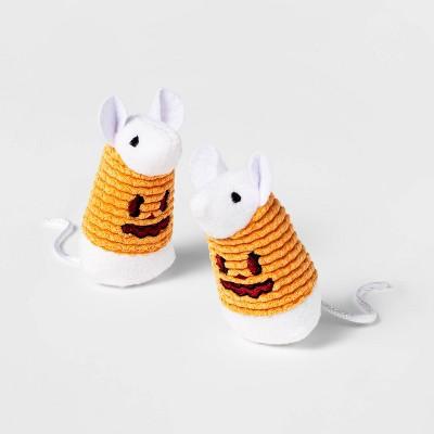 Pumpkin Mice Cat Toy - 2pk - Hyde & EEK! Boutique™