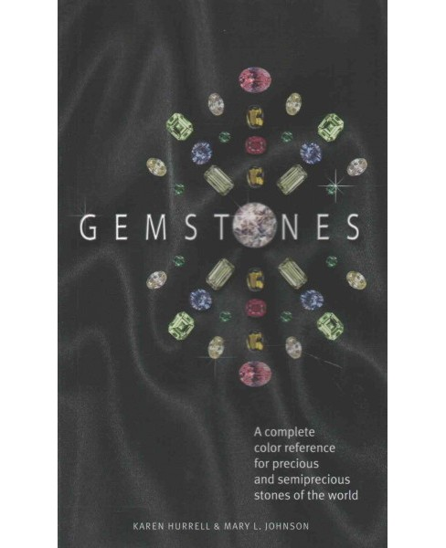 Gemstones : A complete color reference for precious and semiprecious stones of the world (Paperback) - image 1 of 1