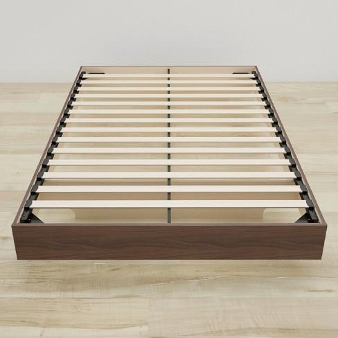 Alibi Full Size Platform Bed Walnut - Nexera - image 1 of 3