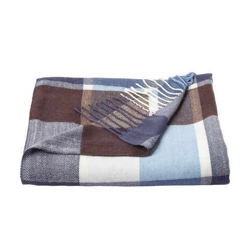 "60""x70"" Breathable and Stylish Soft Plaid Throw Blanket - Yorkshire Home - image 1 of 4"