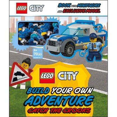 Lego City Build Your Own Adventure Catch the Crooks - (Lego Build Your Own Adventure) by  Tori Kosara (Mixed Media Product)
