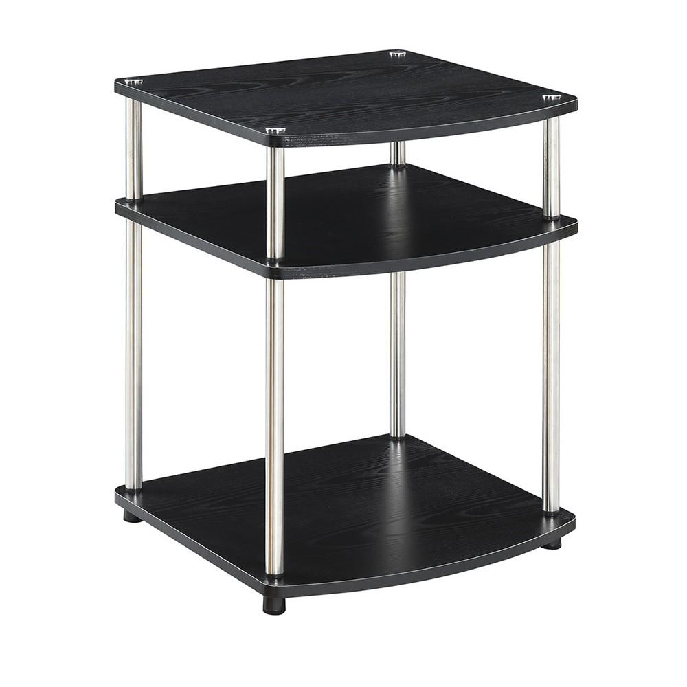 Designs2Go No Tools End Table  - Johar Furniture Designs2Go No Tools End Table Black - Johar Furniture