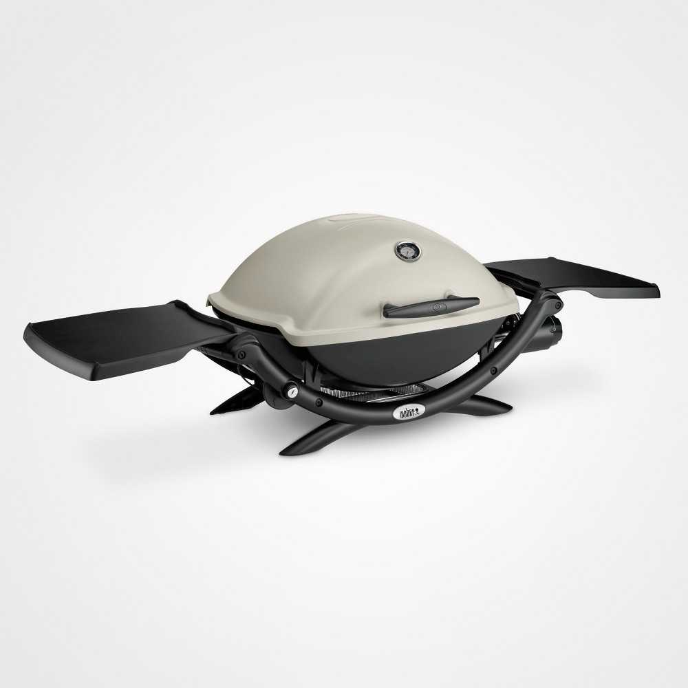 Weber Q 2200 Gas Grill, Silver 15716352