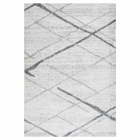 Gray Thigpen Rug - nuLOOM - image 1 of 3