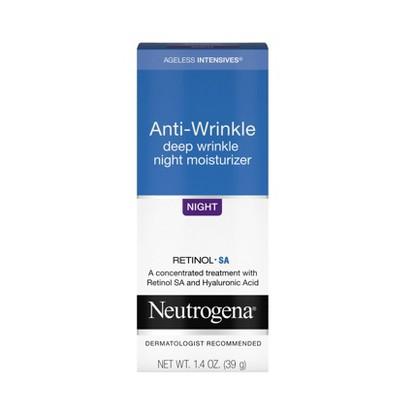 Neutrogena Ageless Intensives Hyaluronic Acid Wrinkle Cream Hyaluronic - 1.4oz