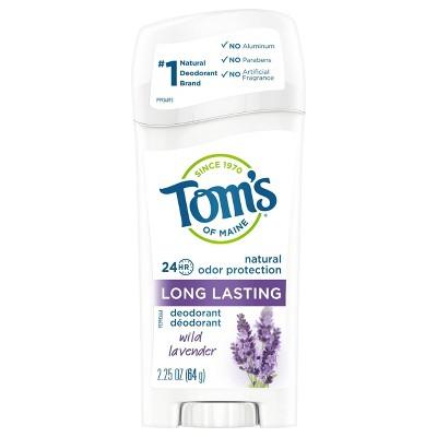 Deodorant: Tom's of Maine Long Lasting Deodorant