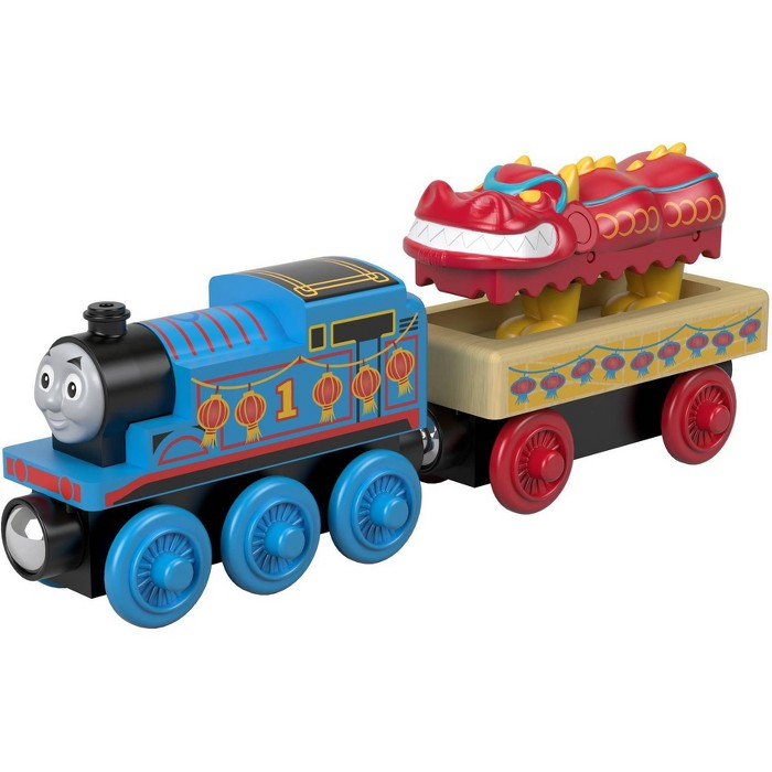 Fisher-Price Thomas & Friends Wood Thomas and the Dragon - image 1 of 4