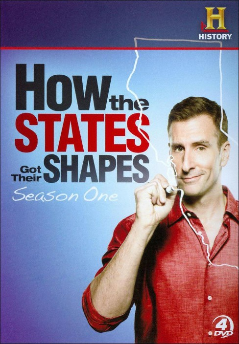 How the states got their shapes:Ssn 1 (DVD) - image 1 of 1