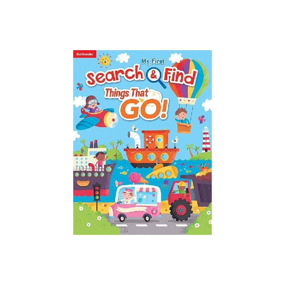 Things That Go My First Search Find Board Book