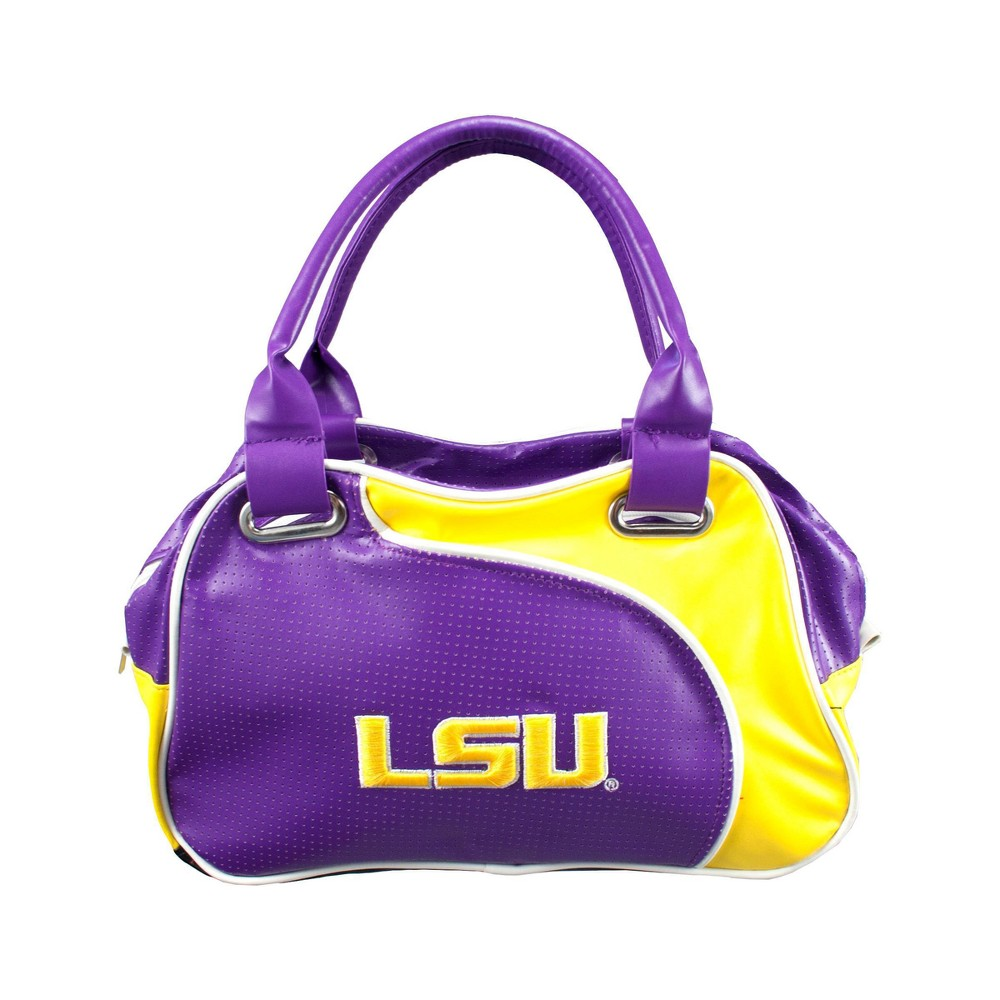 NCAA Lsu Tigers Little Earth Perf-ect Bowler, Adult Unisex, Purple/Gold