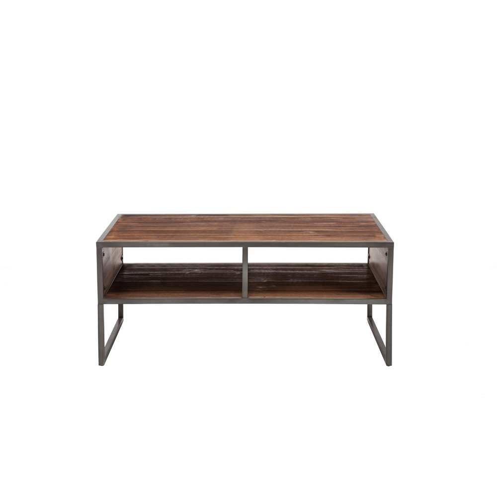"Image of ""42"""" Essex Coffee Table Brown - Crawford & Burke"""