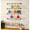 Lakeside Wall Rack for Coffee Mugs, Tea Cups with Industrial Pipe Style - 6 Pieces - image 2 of 2