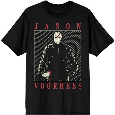 Friday the 13th Jason Voorhees Men's Black T-shirt