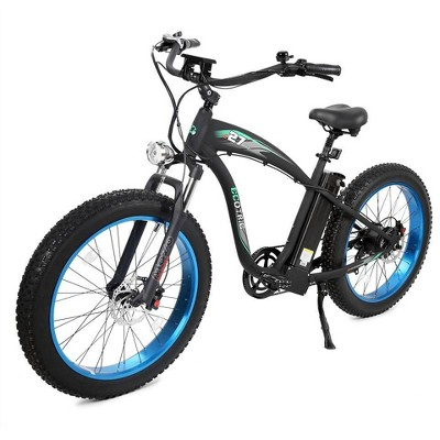 "Ecotric Hammer 26"" Electric Mountain Bike - Blue"