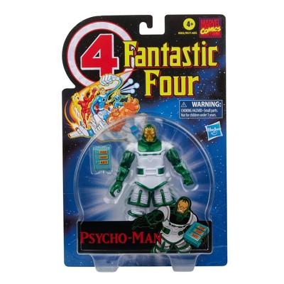 Hasbro Marvel Legends Series Retro 6in Fantastic Four Psycho-Man Figure