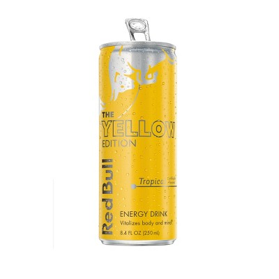 Red Bull Tropical Energy Drink - 8.4 fl oz Cans