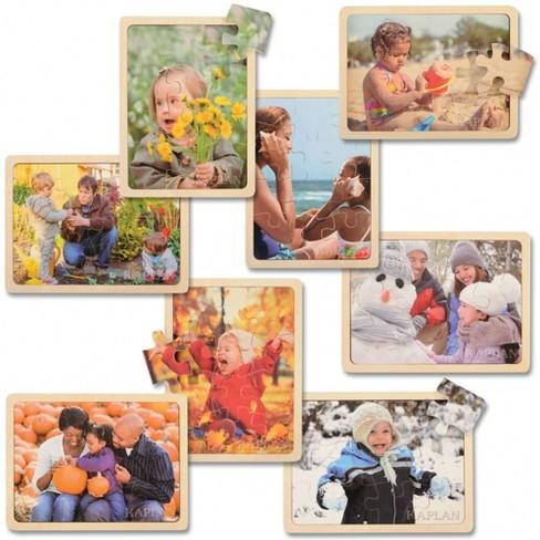 Kaplan Early Learning Four Seasons Puzzle Set  - Set of 8 - image 1 of 4