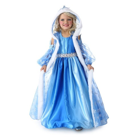 Girls' Icelyn Winter Princess Halloween Costume - image 1 of 1