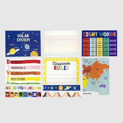 10ct Posters & Backdrops Bulletin Board Boarders - Bullseye's Playground™