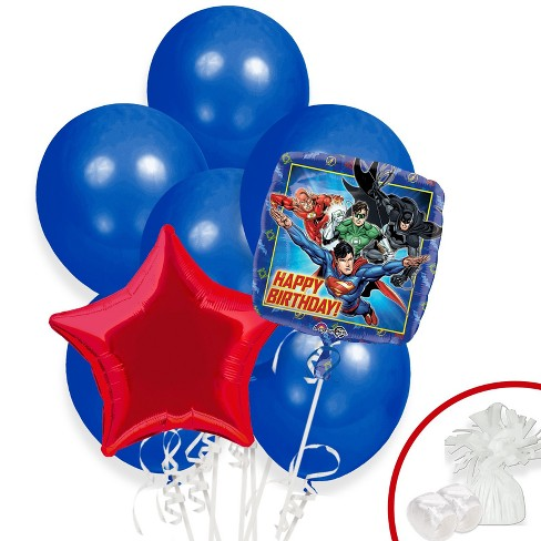 BuySeasons Justice League Balloon Bouquet - image 1 of 1