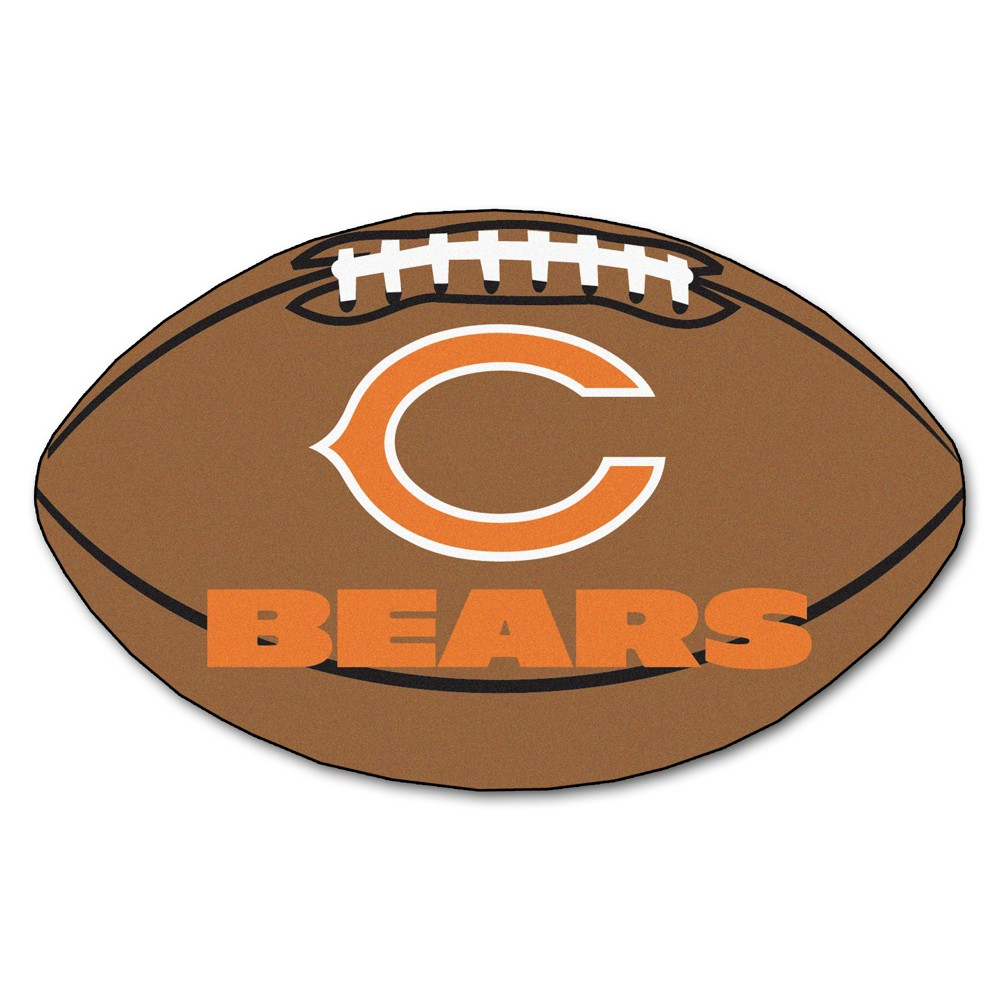Chicago Bears Fan Mats Football Rug 35