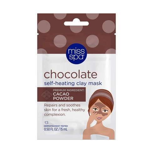 Miss Spa Chocolate Self Heating Clay Mask - 0.50oz - image 1 of 4