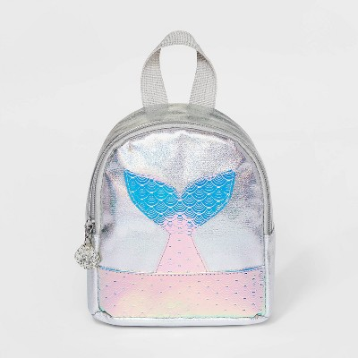 Girls' Mermaid Tail Doom Backpack - Cat & Jack™ White