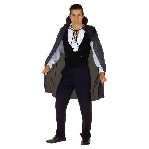 "Adult Taffeta Cape Costume 3/4"" - image 1 of 1"