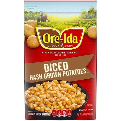 Ore-Ida Diced Frozen Hash Brown Potatoes - 32oz - image 1 of 3