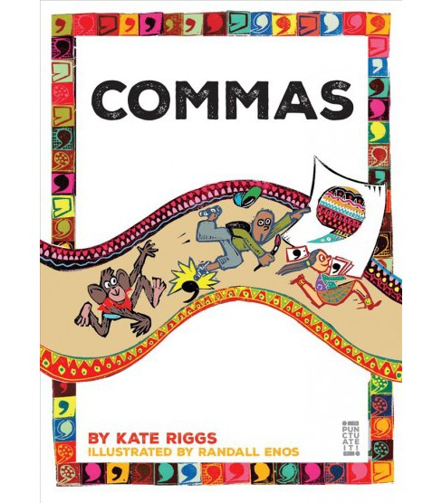 Commas (Reprint) (Paperback) (Kate Riggs) - image 1 of 1