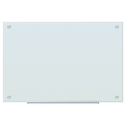 "U Brands Frosted Glass White Dry Erase Board, 35 x 23"" - Frameless - image 1 of 1"