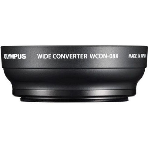 Olympus WCON-08x 4.8mm Wide-Angle Conversion Lens for Stylus 1 and Stylus 1s Cameras, 0.8x Magnification - image 1 of 1