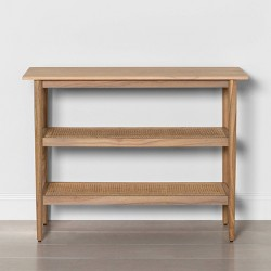 Wood & Cane Console Table - Hearth & Hand™ with Magnolia