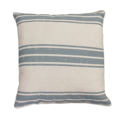 Dolly Farm Oversize Square Throw Pillow Gray - Décor Therapy