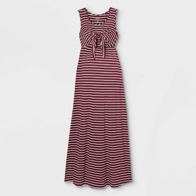 Sleeveless Tie-Front Nursing Maternity Dress - Isabel Maternity by Ingrid & Isabel™