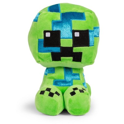 JINX Inc. Minecraft Adventure Series Crafter Charged Creeper Plush Toy | 9 Inches Tall