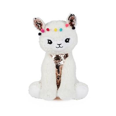 Llama Figural Throw Pillow