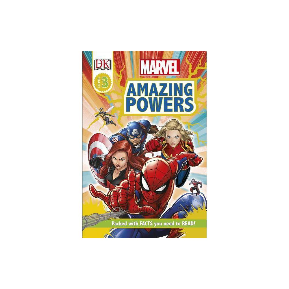 Marvel Amazing Powers Dk Readers Level 2 By Catherine Saunders Paperback