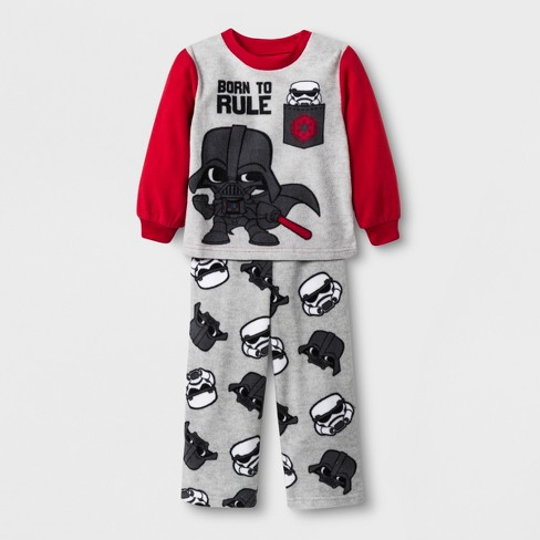Toddler Boys  Star Wars 2pc Fleece Pajama Set - Red   Target ba2026892
