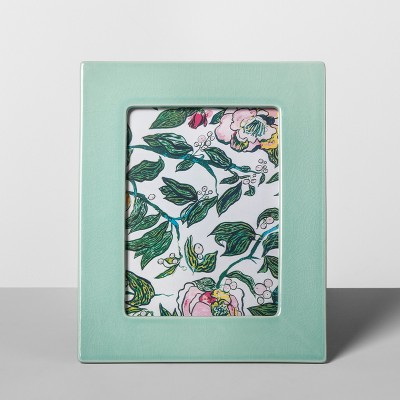5  x 7  Crackle Ceramic Frame Mint Green - Opalhouse™